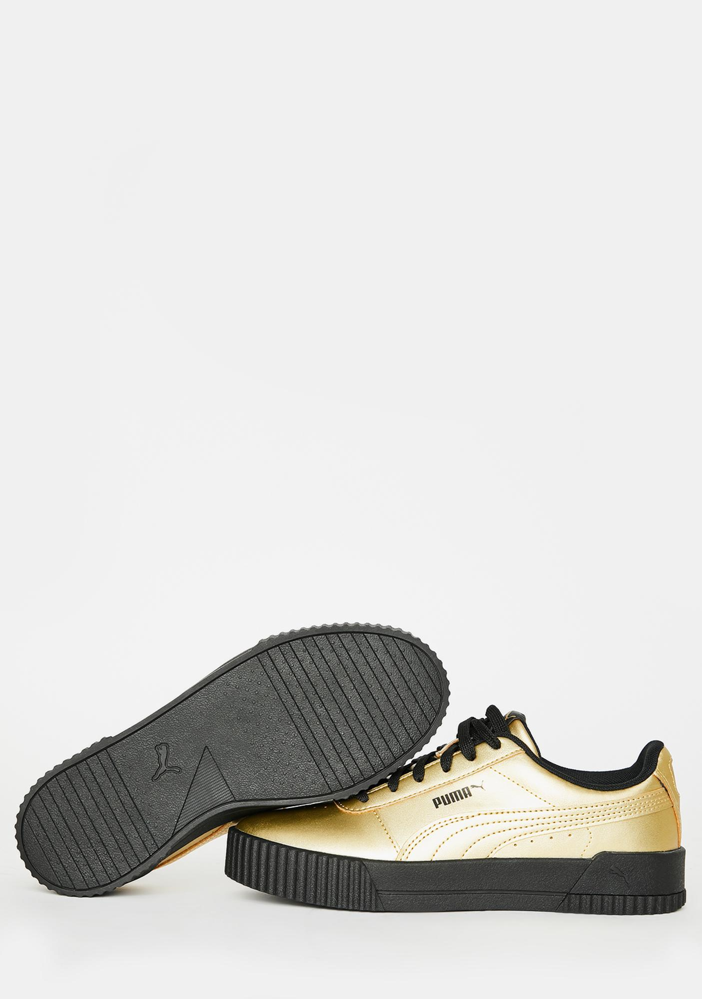 PUMA Carina Metallic Sneakers