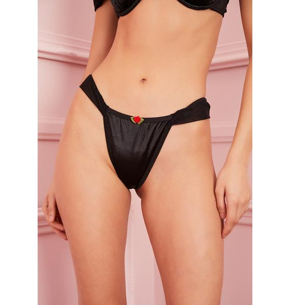Sugar Thrillz Forbidden Fling Satin Panties