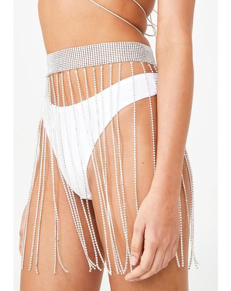 Glitterfest Chain Skirt