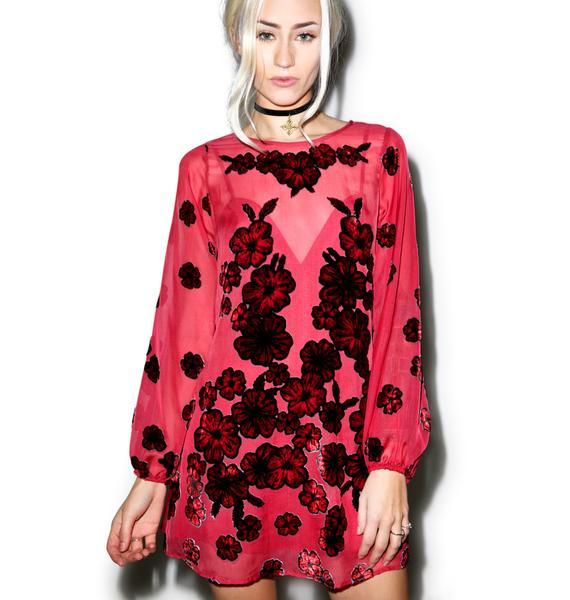 For Love & Lemons Heather Mini Dress