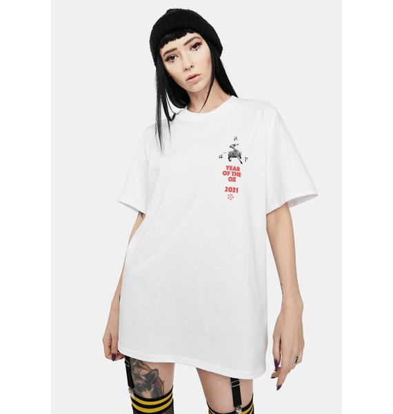 HUF Year Of The Ox Triple Triangle Graphic Tee