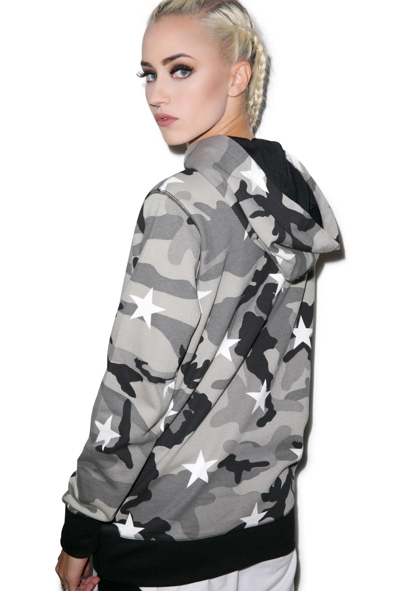 D9 Reserve Camo Stars Pullover