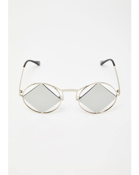 Iconic Relics Circle Sunglasses