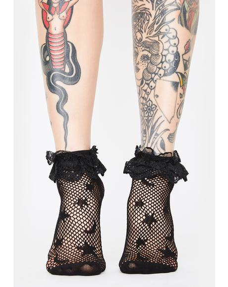 Star Catcher Fishnet Socks