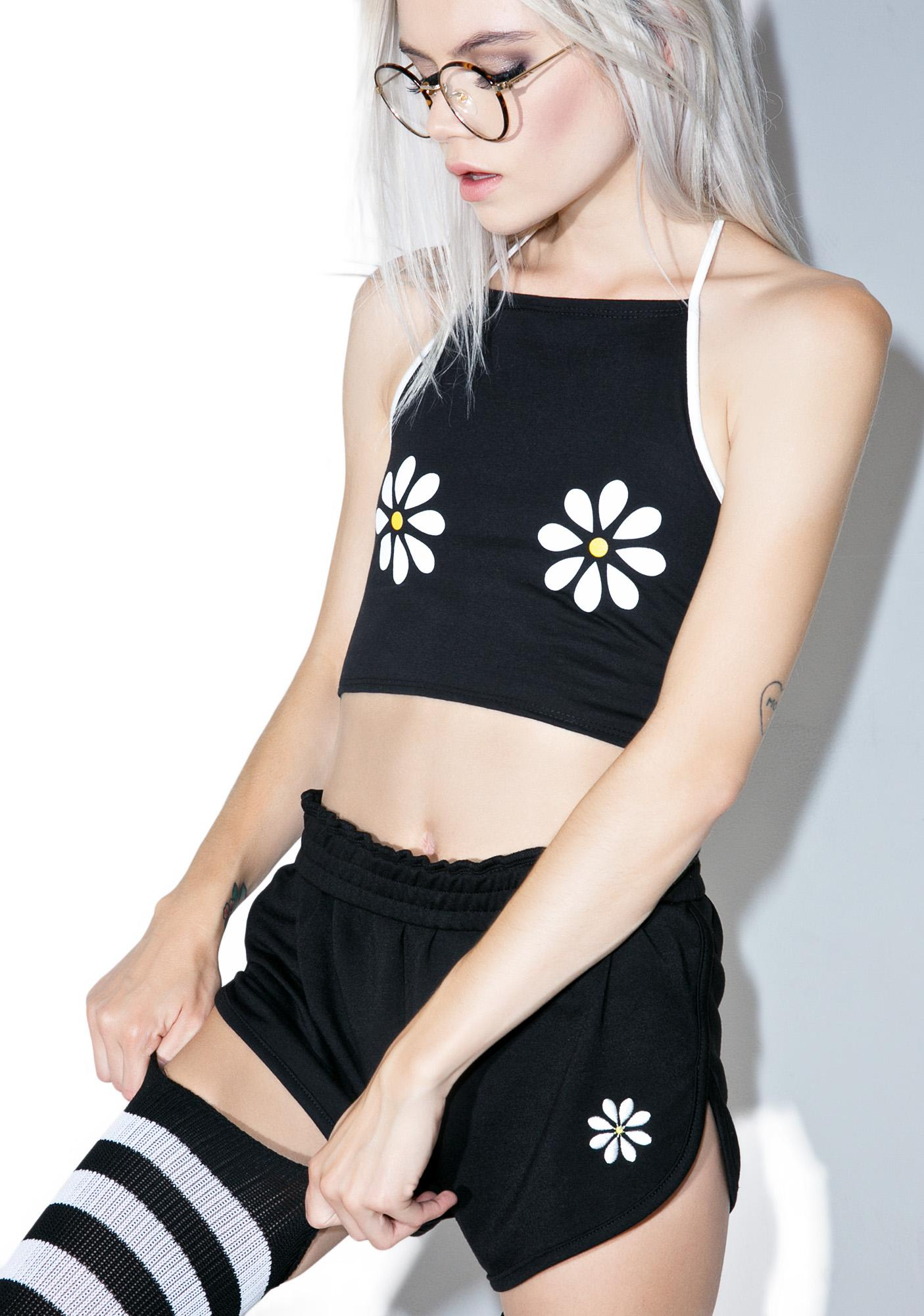 Camp Collection Double Daisy Bralette