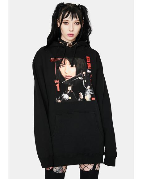 Gogo Yubari Graphic Pullover Hoodie