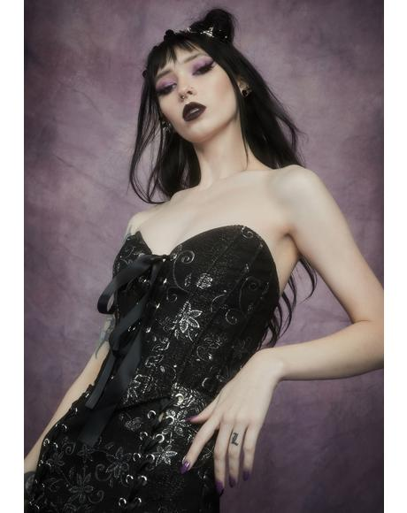 Night Music Brocade Corset