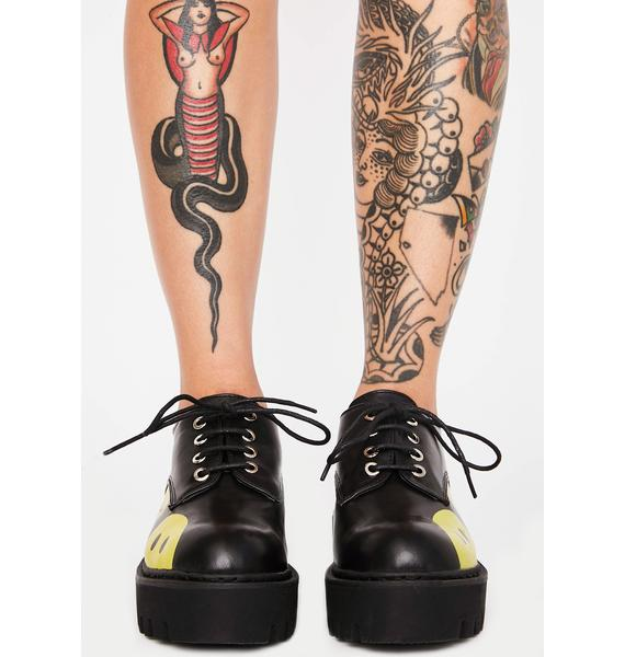 Lamoda Two Faced Candlelight Oxfords