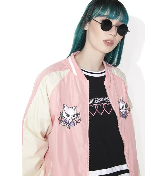 Outerspace Cat Sukajan Jacket