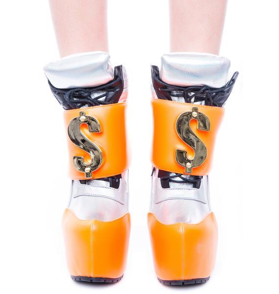 Privileged Mo Money Mo Problems Nevan Booties