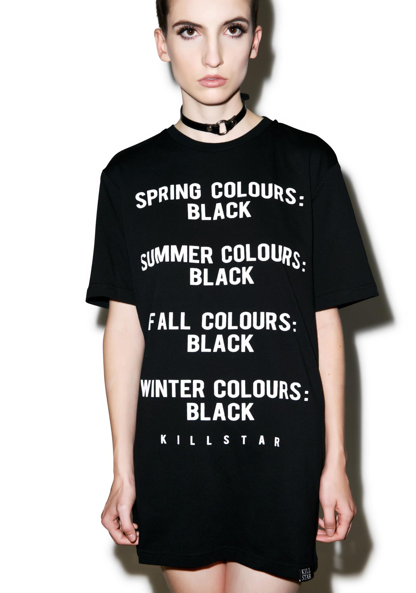 Killstar Season T-Shirt