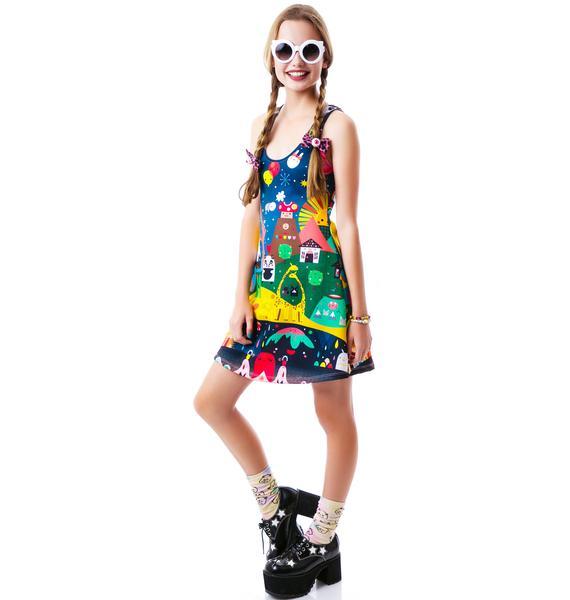 Japan L.A. Super Mini Universe Dress