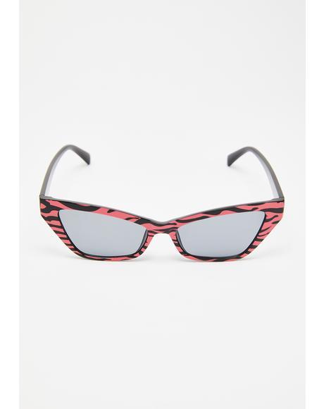 Wild Fantasy Zebra Sunglasses