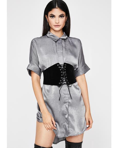 Moonlit Mistress Corset Dress