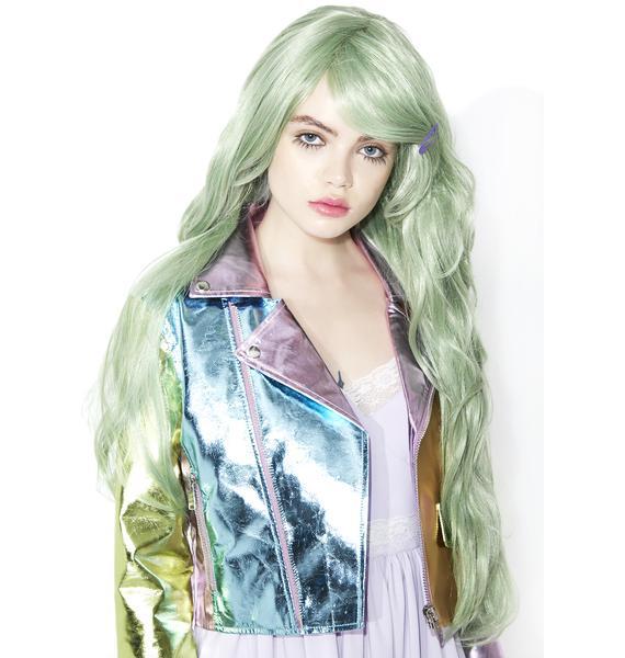 Rockstar Wigs Serene Greenz Wavy Wig