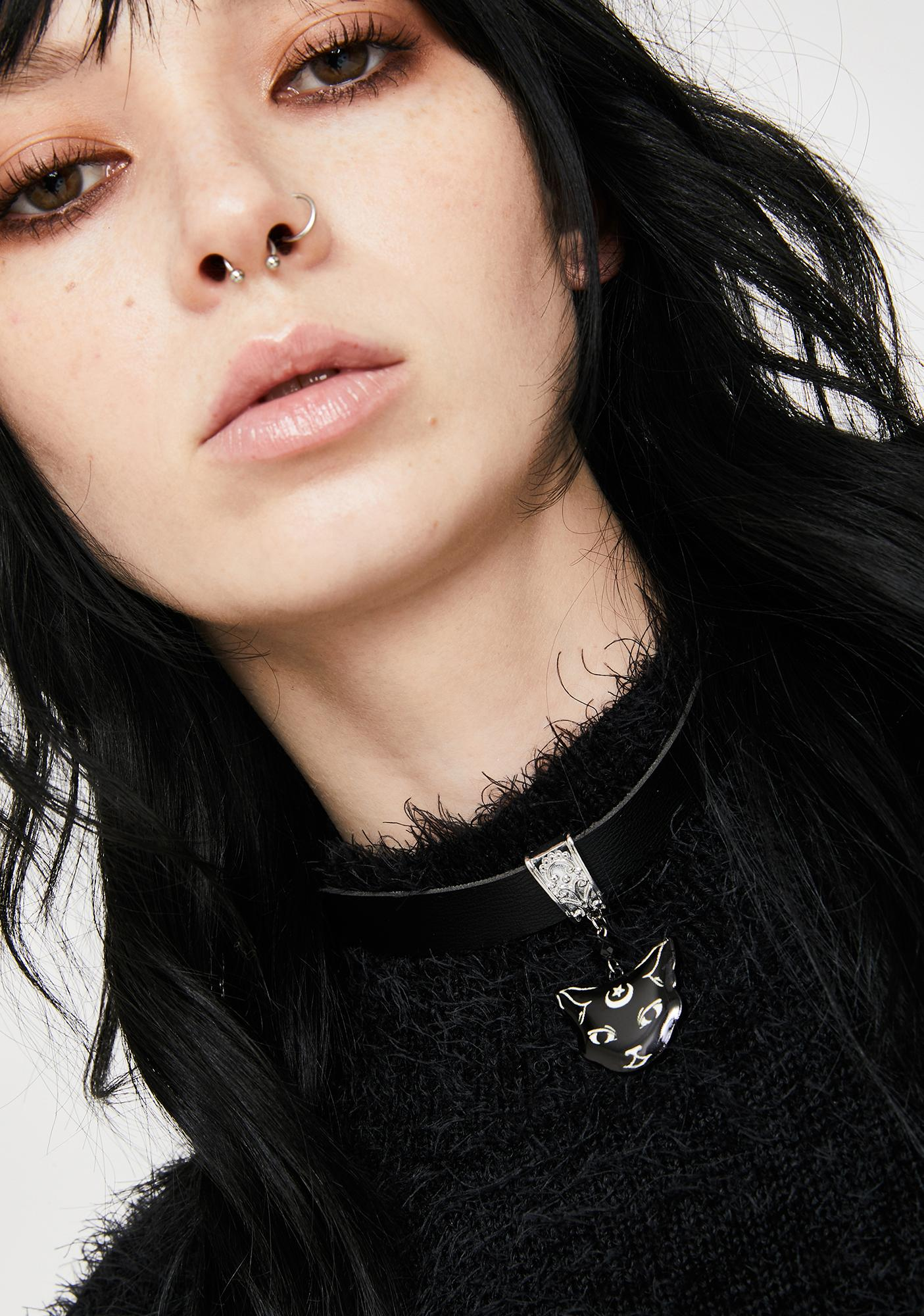 Purr At The Moon Choker
