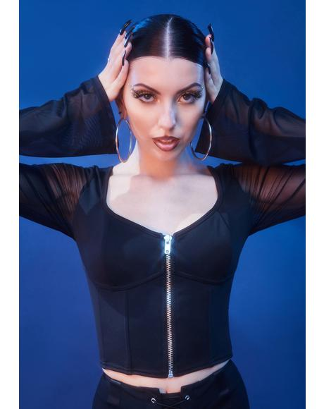 Madame Moon Corset Top