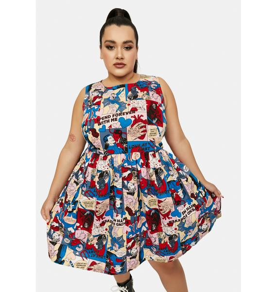 Black Friday Plus Love At First Bite Mini Dress