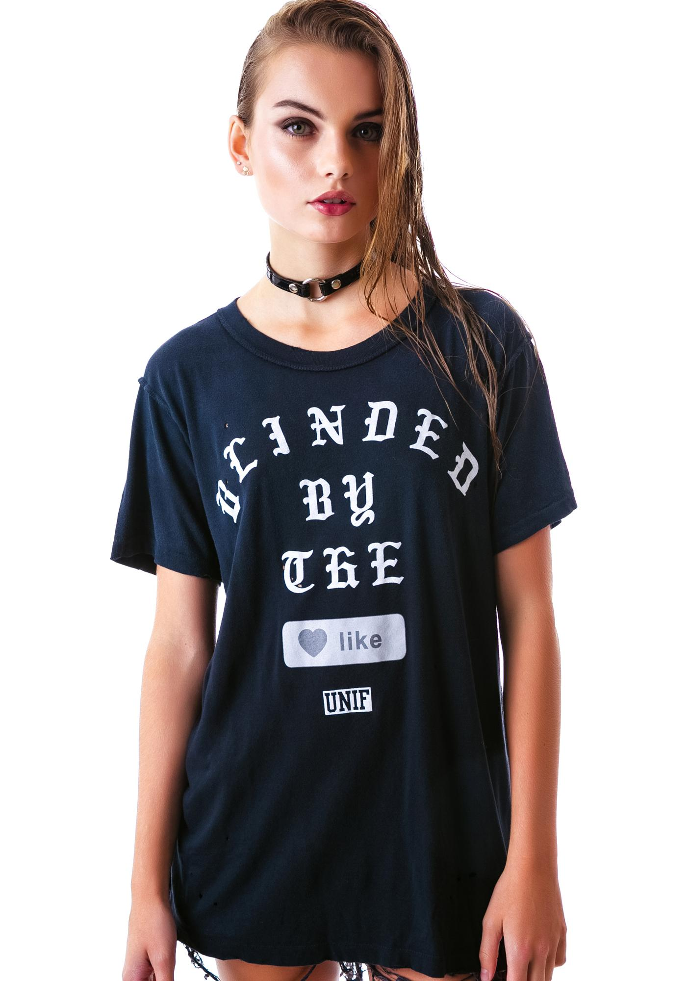 UNIF Blinded Short Sleeve Tee