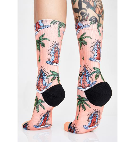Stance Surfin' Guadalupe Crew Socks