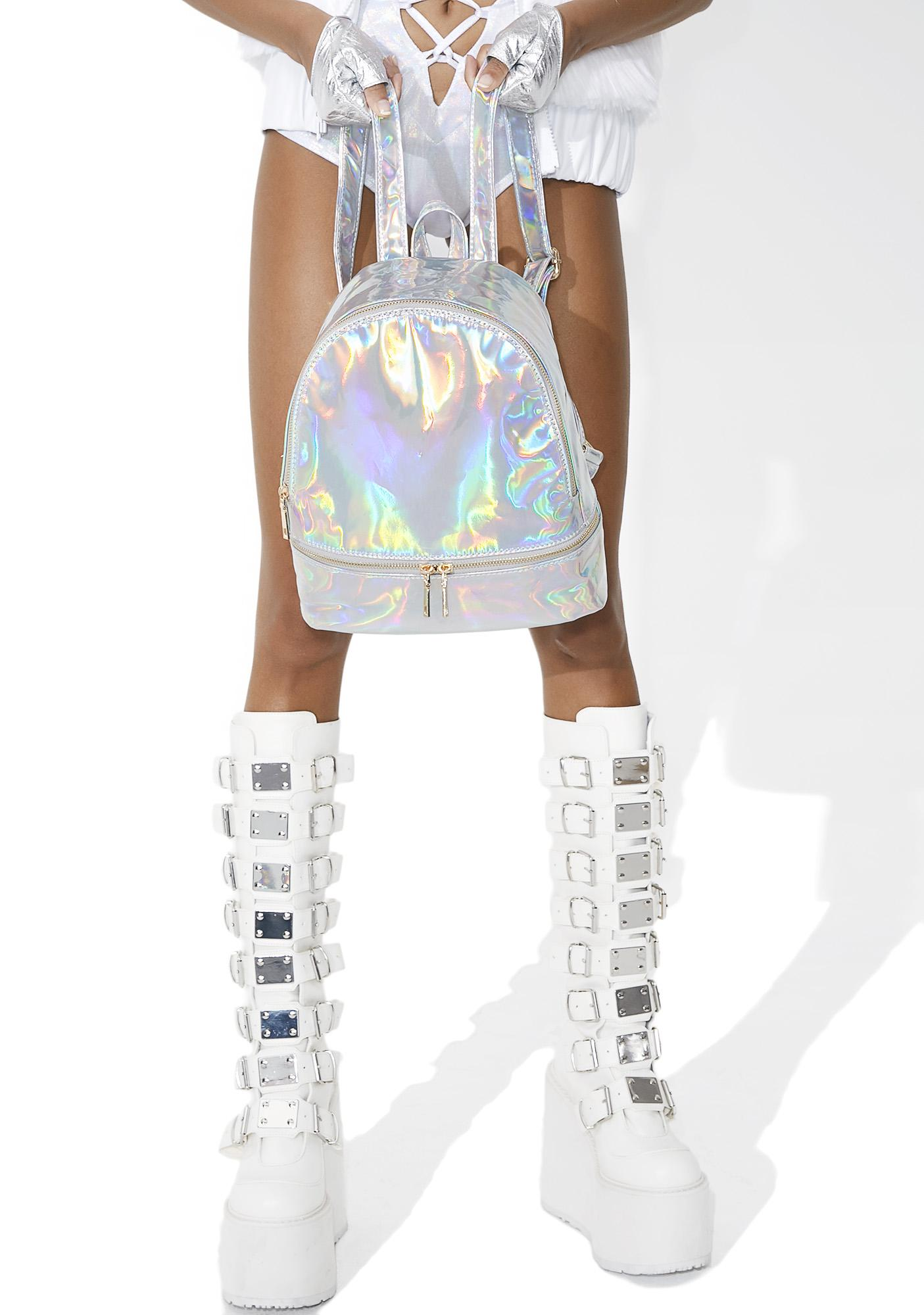 Gitsie Holographic Mini Backpack