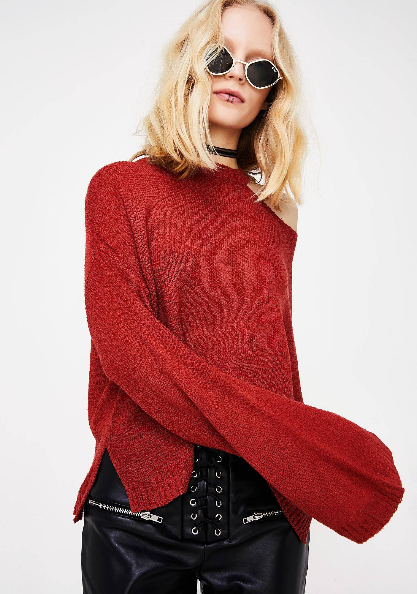 Gimme Fever Knit Sweater