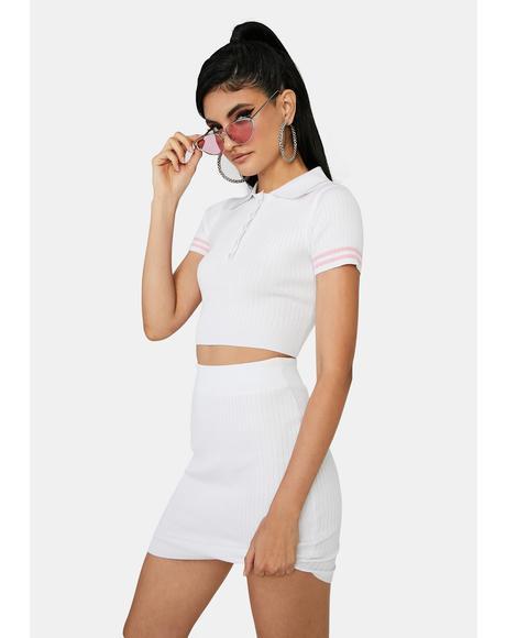 Angel Ur New Lab Partner Skirt Set