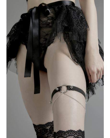 Queen of The Damned Leg Garter