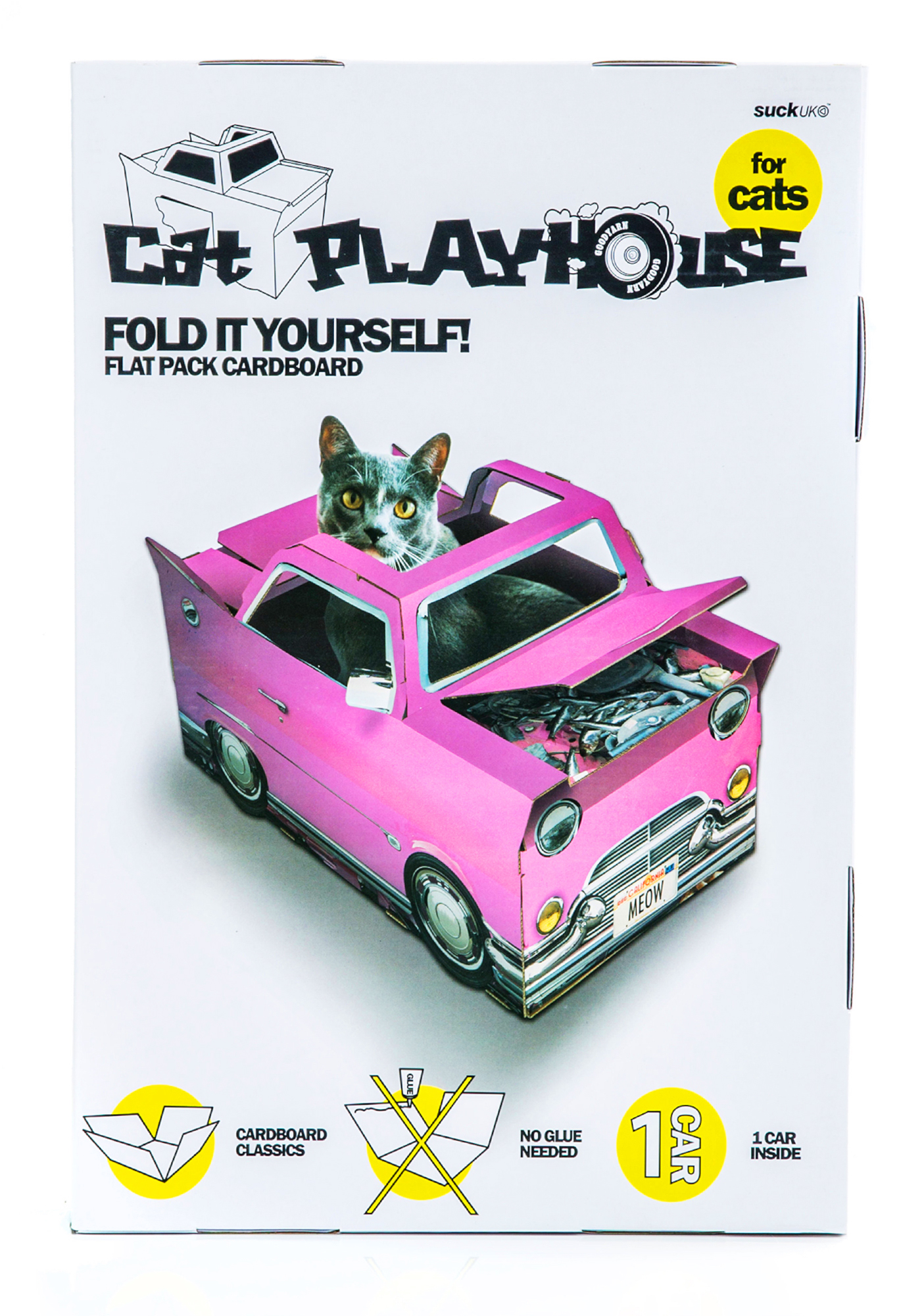 Cadillac Car Cat Playhouse