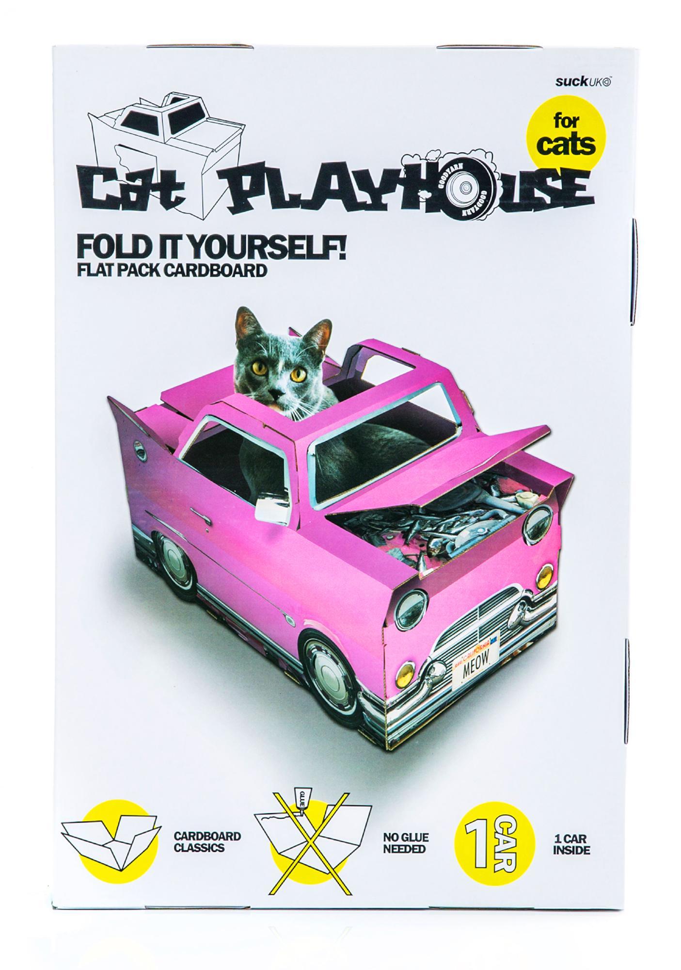 Catillac Cat Playhouse