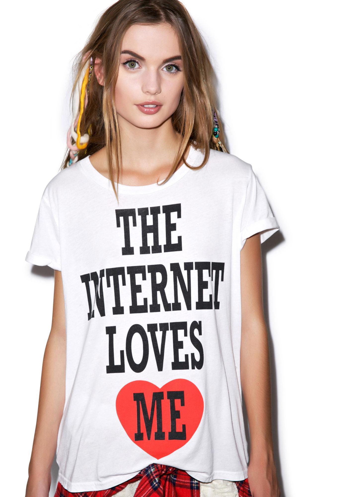 Local Celebrity Internet Love Schiffer Tee