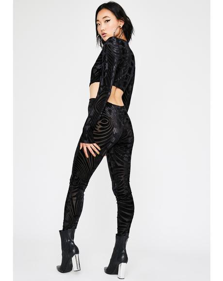 Slayover Velvet Jumpsuit