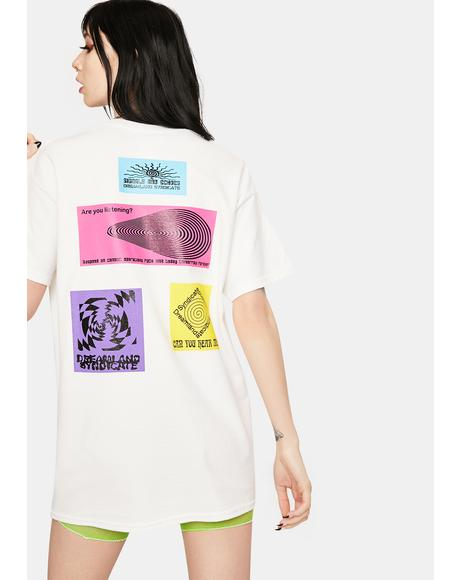 Signals And Echoes Graphic Tee