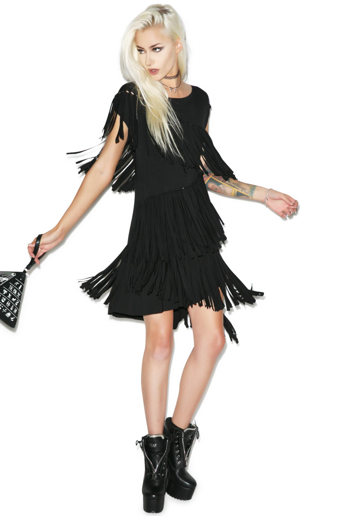 Killstar Mona Fringe Dress