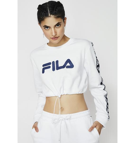 Fila Carol Cropped Sweatshirt