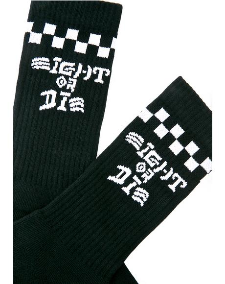Eight Or Die Socks