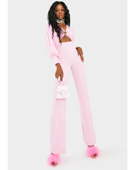 Bubblegum Dream On Honey Jumpsuit