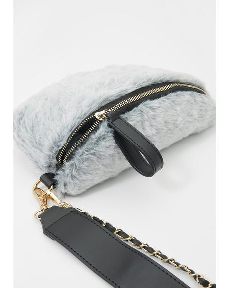 Cloudy Dream Monster Chain Fanny Pack