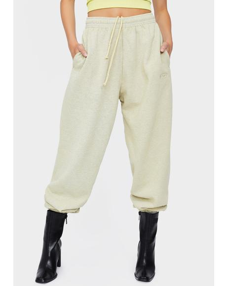 Straw Jogger Sweatpants