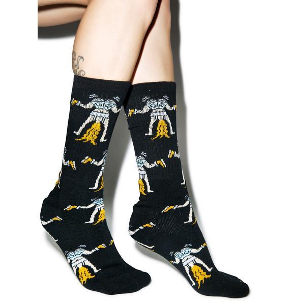 40s & Shorties Twerk Athletic Socks
