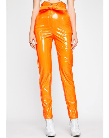 Juicy Maine Squeeze Vinyl Pants