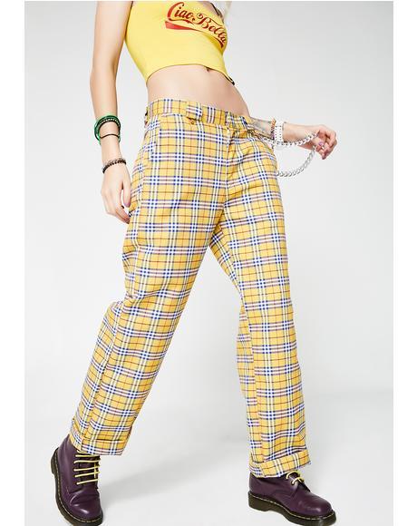 Clueless Yellow Pants