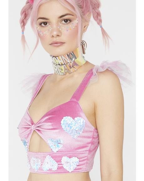 Cupid Babydoll Top