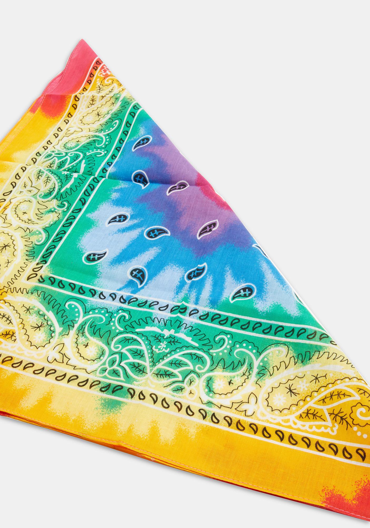 Sunkissed Tie Dye Scarf