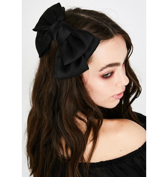 But I Want It Now Hair Bow