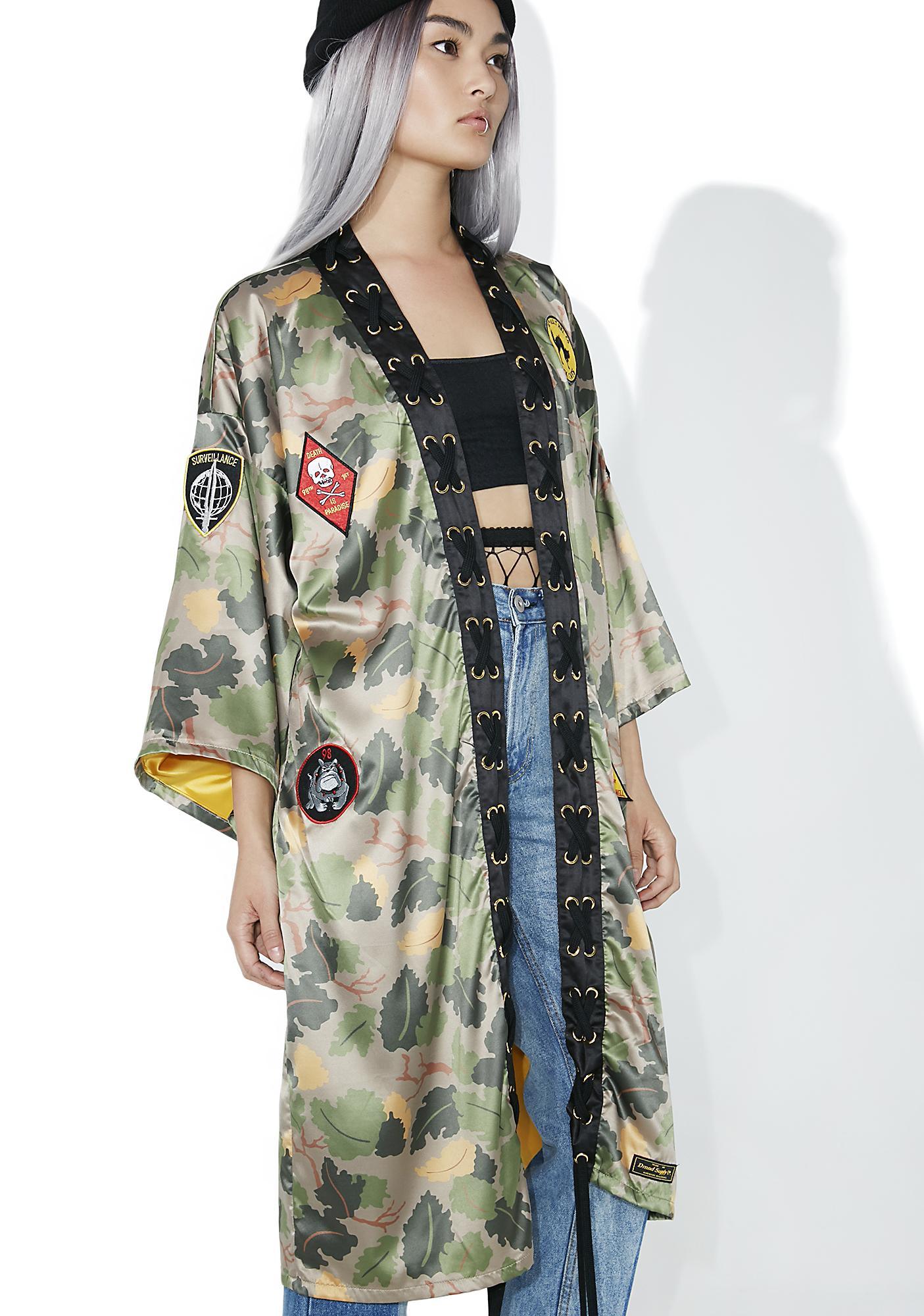 Diamond Supply Pacific Tour Kimono
