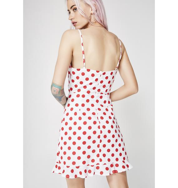 Retro Glambae Cut-Out Dress