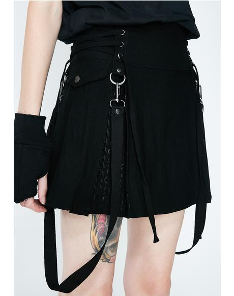 Sinister Scouts Mini Skirt