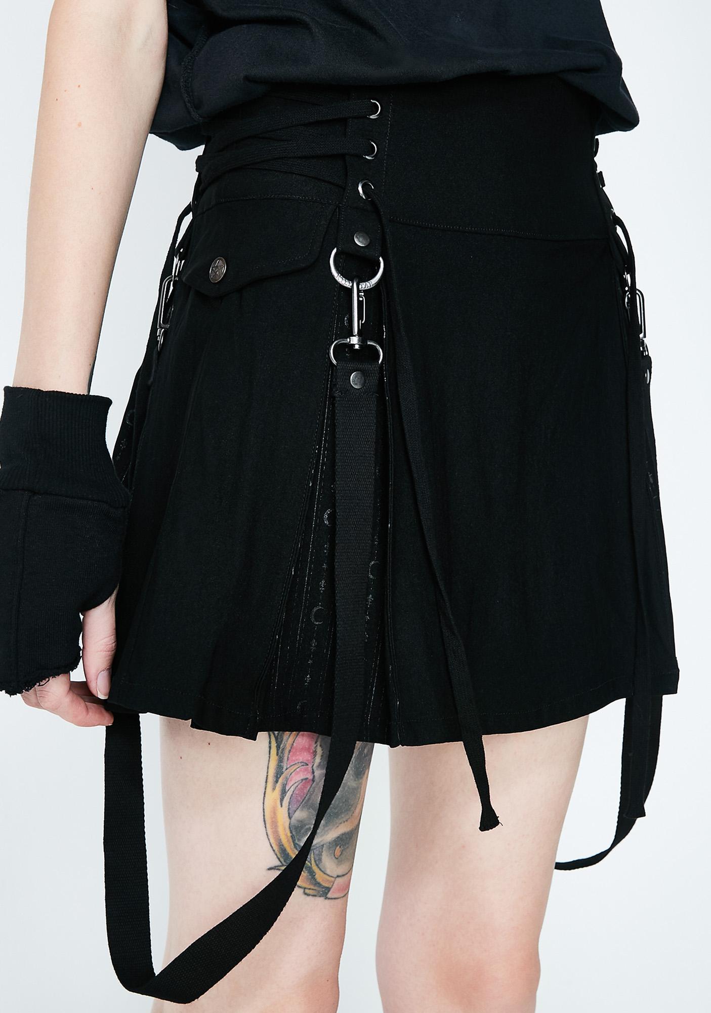 Killstar Sinister Scouts Mini Skirt
