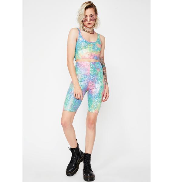 Sparkle Bae Shorts Set